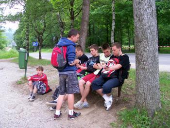 obóz wędrowny , J.Dąbek