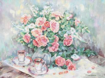 Bukiet kwiatów - Tatiana Cybulaska