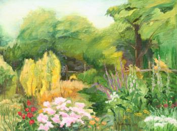 W ogrodzie - Magdalena Wróblewska