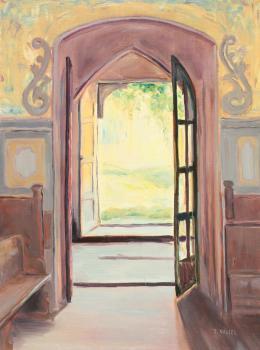 Z kościoła - Iwona Nagiel