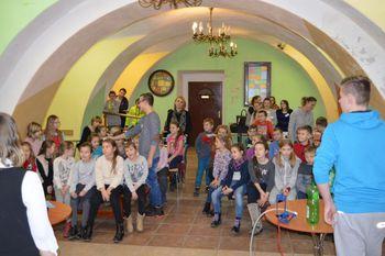Galeria Andrzejki w Świetlicy