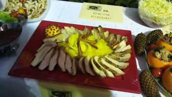 Galeria Koło Gospodyń Wiejskich w Łosiowie na podium konkursu kulinarnego