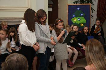 Galeria spotkanie choinkowe w gimnazjum