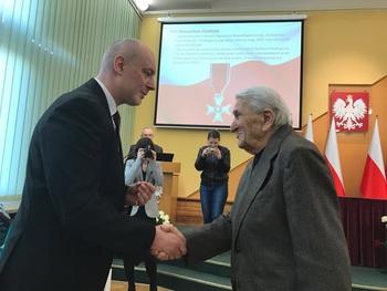 """Galeria Pan Mieczysław Józefczyk, współzałożyciel i członek Organizacji Niepodległościowej """"Podziemny Orzeł Wolności"""""""