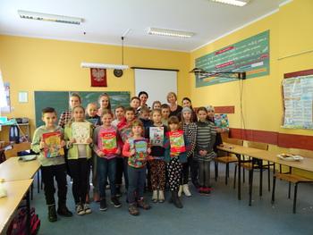 Galeria I Szkolny Konkurs Pięknego Czytania