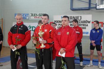 Mistrzostwa w Podnoszeniu Ciężarów w Skorogoszczy.- najlepsi zawodnicy kategorii od 16 lat
