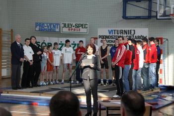 Mistrzostwa w Podnoszeniu Ciężarów w Skorogoszczy.- otwarcie