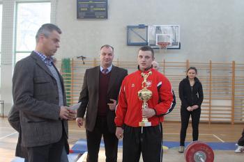 Mistrzostwa w Podnoszeniu Ciężarów w Skorogoszczy.- zwycięzca kategorii od 16 lat