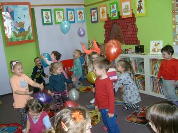 Galeria Przedszkolaki w bibliotece 2017