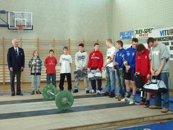 Mistrzostwa w Podnoszeniu Ciężarów w Skorogoszczy.1
