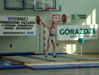 Mistrzostwa w Podnoszeniu Ciężarów w Skorogoszczy - Bartłomiej Barth