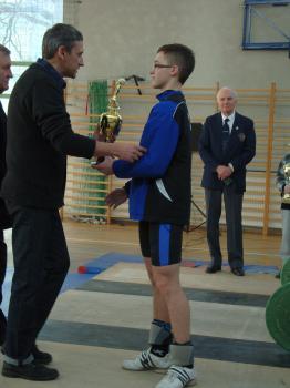 Mistrzostwa w Podnoszeniu Ciężarów w Skorogoszczy - I miejsce w mistrzostwach do lat 16