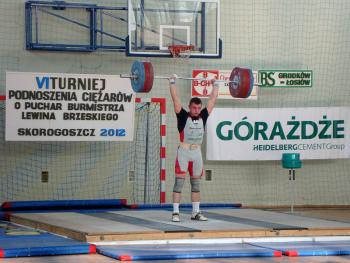 Mistrzostwa w Podnoszeniu Ciężarów w Skorogoszczy - I miejsce w mistrzostwach od 16 lat