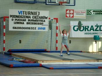 Mistrzostwa w Podnoszeniu Ciężarów w Skorogoszczy - najmłodszy zawodnik Mistrzostw