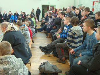 Mistrzostwa w Podnoszeniu Ciężarów w Skorogoszczy - publiczność