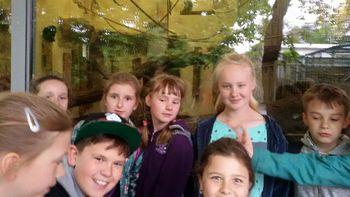 Galeria Świetlica Terapeutyczna z wizytą wśród zwierząt