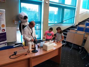 Galeria Uczniowie PSP w Łosiowie z wizytą na Uniwersytecie Opolskim