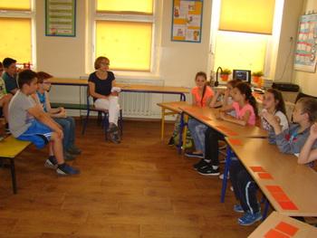 Galeria Turniej wiedzy o zdrowym stylu życia  w Publicznej Szkole Podstawowej  w Łosiowie