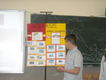 V festiwal nauki w Gimnazjum w Łosiowie