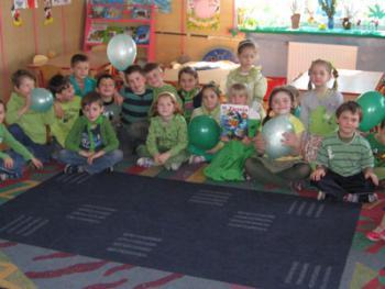 Dzień ziemi w przedszkolu w Łosiowie