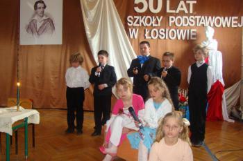 50 - lecie Szkoły Podstawowej w Łosiowie