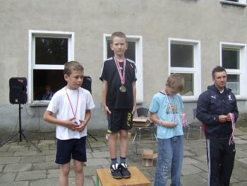 Dzień Dziecka na sportowo w PSP w Łosiowie