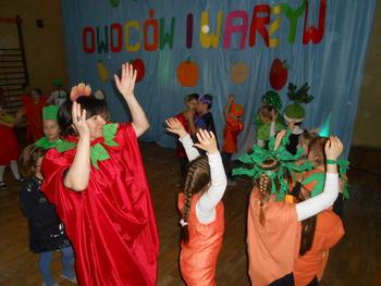 Galeria Bal owoców i warzyw w klasach 1-3