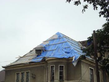 Wymiana pokrycia dachowego w Strzelnikach na Wilii XIX