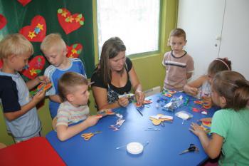 Przedszkolaki w Swietlicy Terapeutycznej