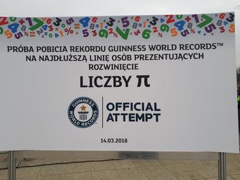 Galeria Uczniowie Szkoły Podstawowej w Lewinie Brzeskim pobili Rekord Guinnessa!