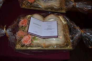 Galeria Uroczystość obchodzona dla uhonorowania długoletniego pożycia małżeńskiego