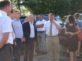 Wizyta przedastawicieli władz w firmie HELIXIA  w Oldrzyszowicach