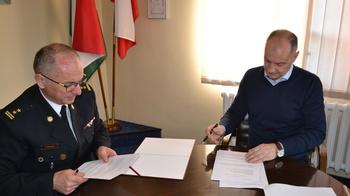 Galeria Porozumienie z Komendą Powiatową Państwowej Straży Pożarnej