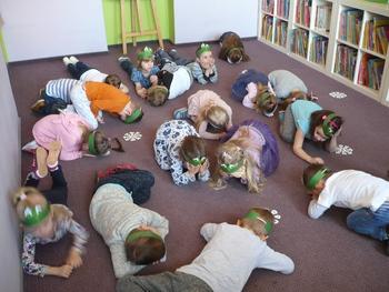 Galeria Przedszkolaki w Bibliotece Publicznej w Lewinie Brzeskim