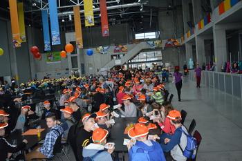 Galeria PSP w Lewinie Brzeskim na Festiwalu Eksperymentów i Doświadczeń