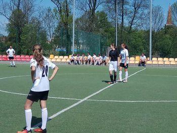 Galeria Półfinał wojewódzkiego w piłce nożnej dziewcząt z Łosiowa