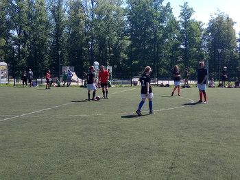 Galeria Osiągnięcia drużyny szkolnej piłki nożnej dziewcząt – półfinał wojewódzki !!!