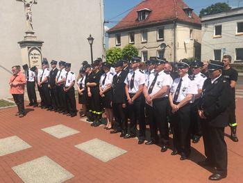 Galeria Uroczystość poświecenia wozu ratowniczo-gaśniczego OSP Lewin Brzeski