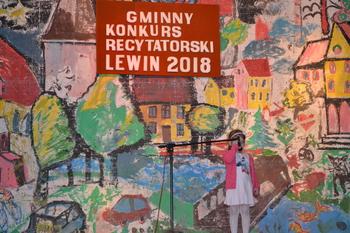 Galeria XI Gminny Konkurs Recytatorski