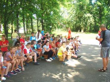 """Galeria """"Na sportowo bezpiecznie, zdrowo i z książką"""" w PSP w Łosiowie"""
