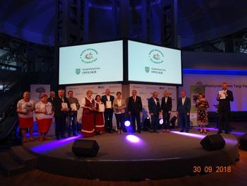 Galeria Perły 2018 rozdane w Poznaniu- jedna dla KGW z Chróściny