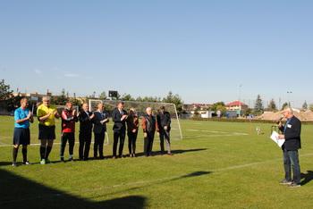 """Galeria """"NASZ MUNDIAL – Turniej Piłki Nożnej Osób Niepełnosprawnych  w Lewinie Brzeskim"""""""
