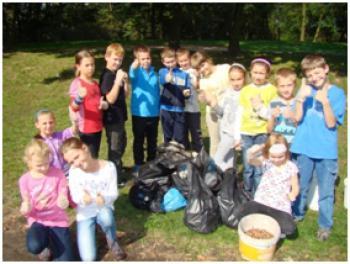 Sprzątanie świata w Łosiowie