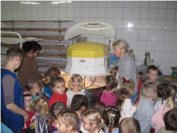 Wizyta w piekarni