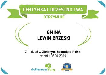 Galeria certyfikat