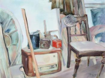 W pracowni - Jadwiga Bajger