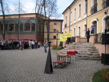 Inauguracja Wojewódzkich Dni Olimpijczyka w Lewinie Brzeskim