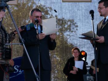 Marszałek Województwa Opolskiego Józef Sebesta ogłasza wyniki Konkursu Koron i wieńców dożynkowych