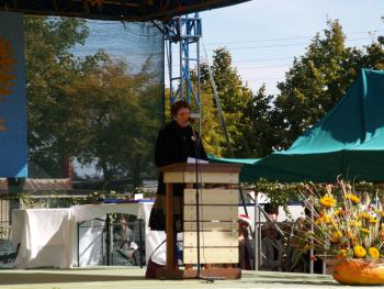 Przemówienie  Burmistrza Lewina Brzeskiego - Pani Anny Twardowskiej otwierające Galę dożynkową
