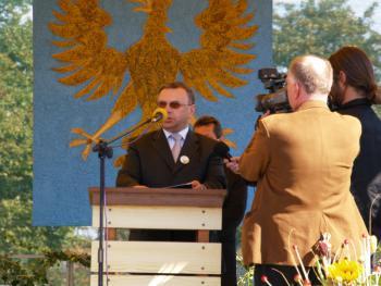 Przemówienie MArszałka Województwa Opolskiego Pana Józefa Sebesty podczas Gali dożynkowej
